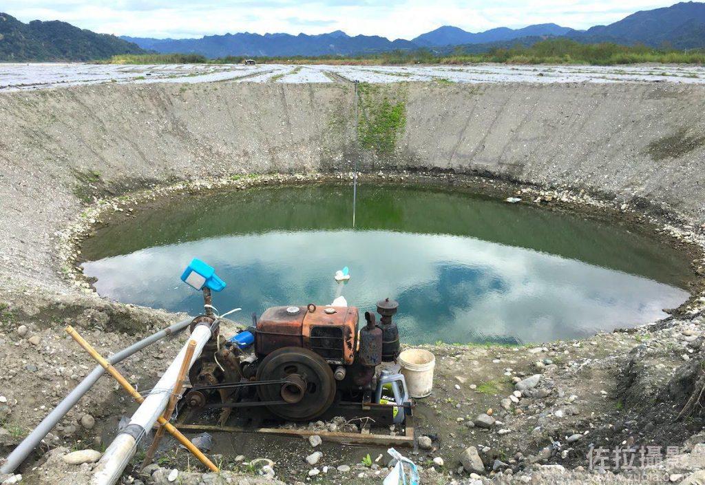 挖出來的灌溉水井