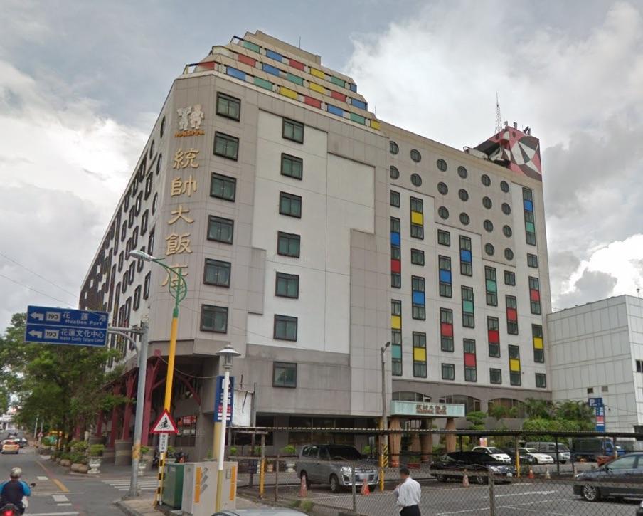 google街景上統帥大飯店有8層