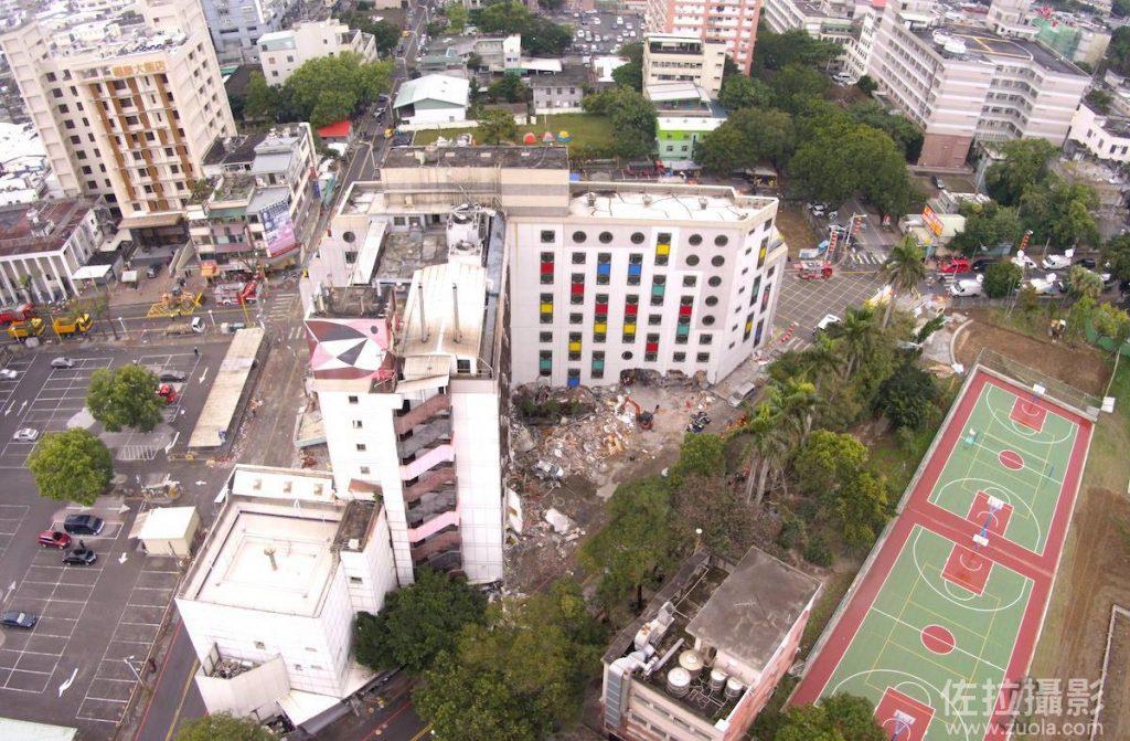 南面空中拍攝統帥大飯店