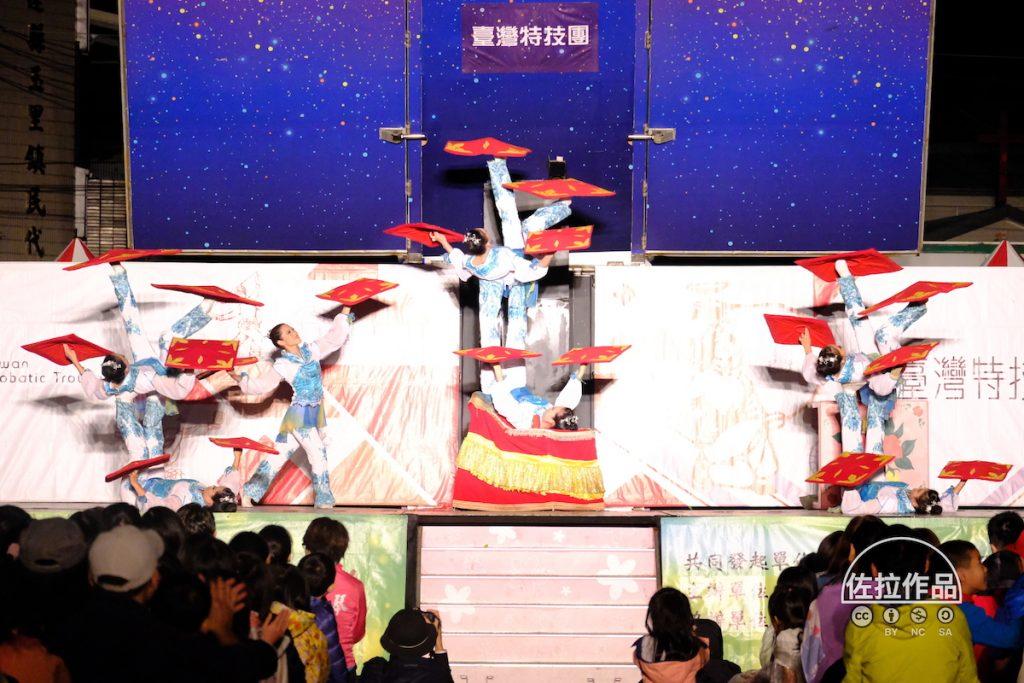 紙風車劇團表演轉手帕